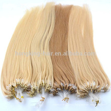 New Arrival single and double drawn virgin malaysian nano ring hair extensions