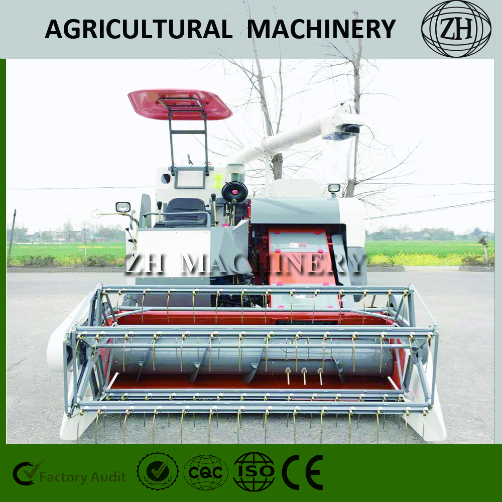 New Big Rice Wheat Combine Harvester