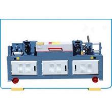 Steel wire straightener and cutter machine