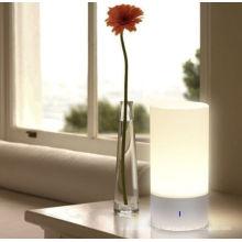 360 grau Sensor de Toque Lâmpada de Mesa 256 Cor Mudar Lâmpada de Cabeceira Inteligente Dimmable Luz Branca Quente