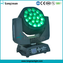 Bee Eye Stage Equipment RGBW 19 by 15W Zoom PAR LED Moving Head