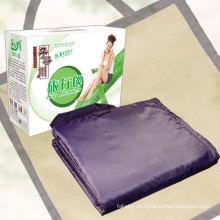 Путешествия, складной водонепроницаемый пикника одеяло с ручкой для пикника Mat (SSB0103)