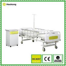 HK-N207 Zwei Funktionshandbuch Krankenhausbett (Medizintechnik, Krankenhausmöbel)