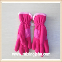 fleece gloves with thinsulate/thinsulate glove for unisex