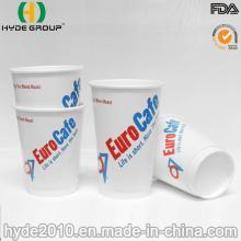 12 Oz tasse Double paroi en papier café chaud avec Logo