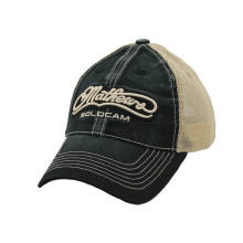 Embroidery Patch on Heavy Washed Cotton Trucker Cap