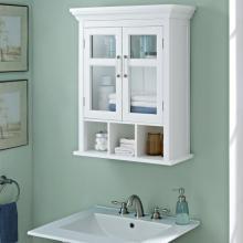 Vanités de salle de bain modernes à double porte
