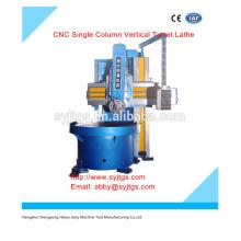 CNC Coluna Única Turret Vertical Torno preço para venda quente em estoque