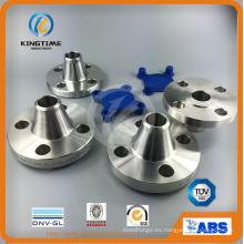 Brida forjada doble del reborde Wt del reborde Wn del acero inoxidable (KT0258)