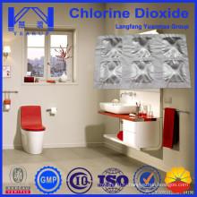 Туалетные дезодорирующие химикаты с агентами диоксида хлора