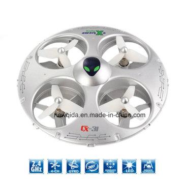 R / C Modo Sem Cabeça 2.4G UFO Remmote Control Toy Helicopter
