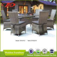 Restaurant Möbel Rattan Esszimmer-Set (DH-6112)
