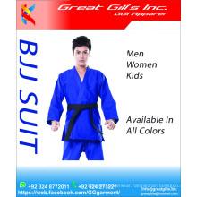 BJJ suit supplier from Pakistan best quality 100% 350 gsm 550 Cotton / karate uniform / judo