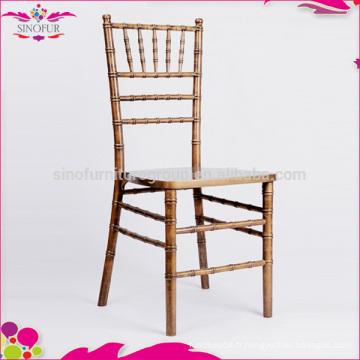 Silla chiavari chiavri chaise empilée