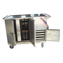 С thr-FC001 электрическое Отопление еда тележки