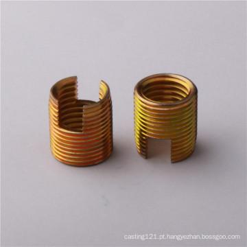 insertos de bobina para furos de parafuso de ferro danificados