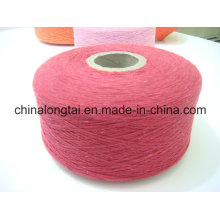 Red Black White Recycled Cotton polyester Yarn