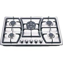 Sabaf 5 queimador fogão de gás de aço inoxidável