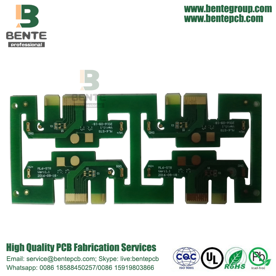 FR4 Tg135 Carte PCB à 2 couches Low Cost ENIG