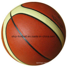 Laminated PU Basketball Official Size for Sporting