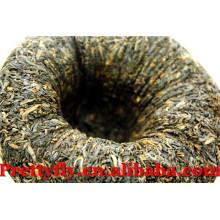Ancient Tree 500g Maduro Comprimido Tigela Pu erh Tea Export, Benefício emagrecimento Pu'er chá para perder peso