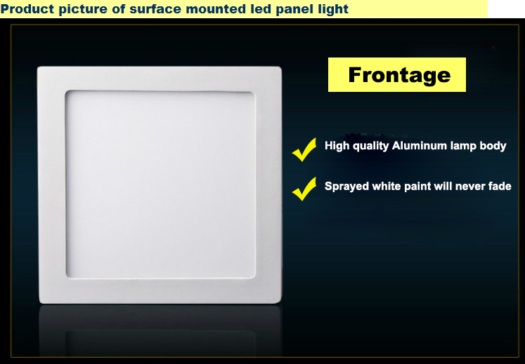 15w flat panel led lights