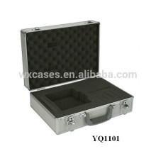 boîtier de l'appareil portable en aluminium avec mousse personnalisée insert
