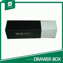 Caja de cajones plegable de dos piezas de cartón al por mayor
