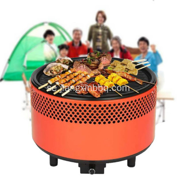 Rökfri Tabletop Portable BBQ Charcoal Grill