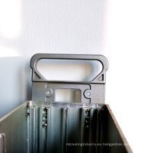 Piezas de mecanizado CNC de aluminio de precisión personalizada de fábrica