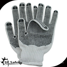SRSAFETY PVC dotted cotton gloves Working Gloves