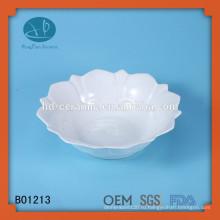Мода керамическая миска с фруктовой покраской, лук формы фруктов, керамический набор миски суп