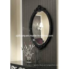 Estilo moderno espelho decorativo de madeira (LS-906)