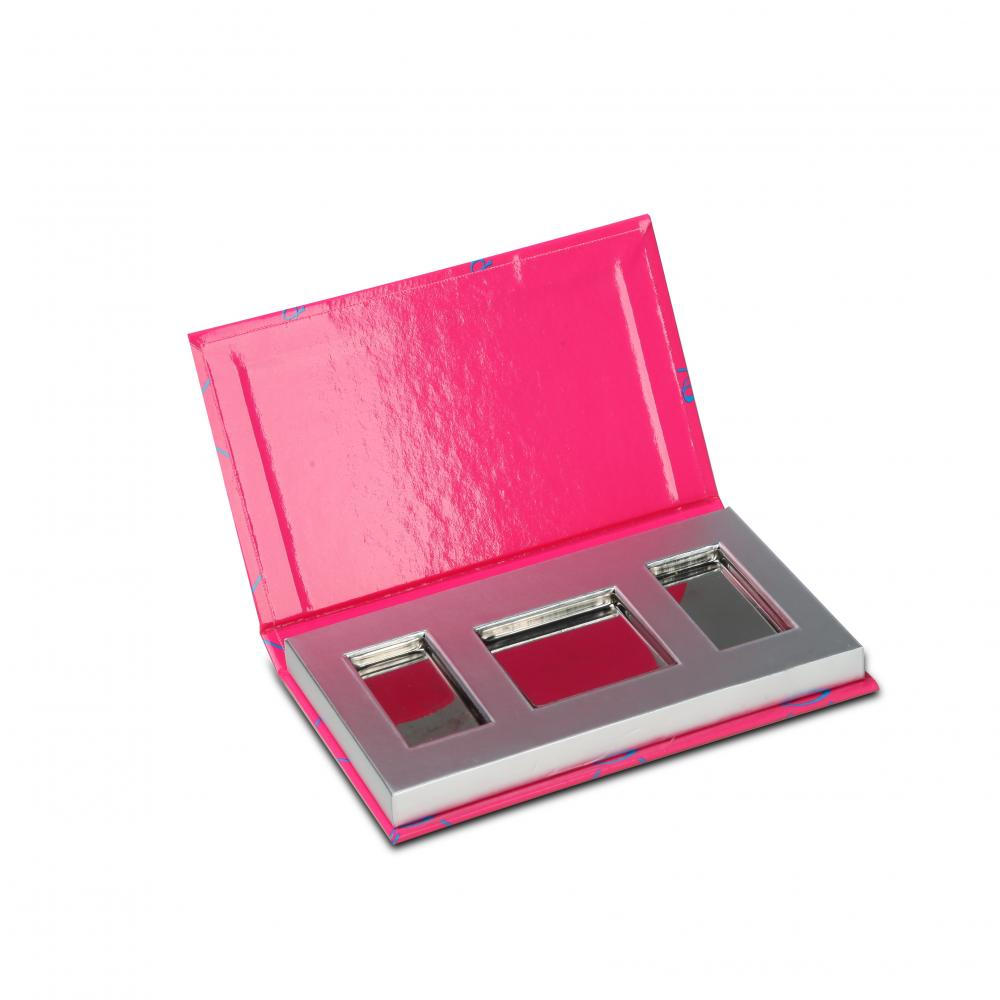 3 Colour Eyeshadow make up paper box