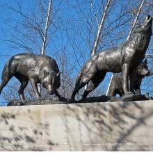 Alta calidad cómo hacer una estatua de lobo