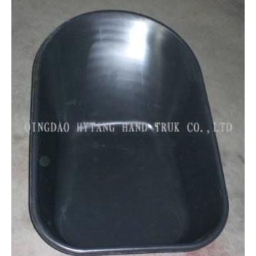 bandeja plástica de carrinho de mão de roda