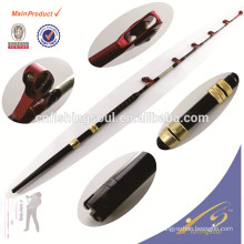 GMR007 High quality carbon big roller guide trolling rod
