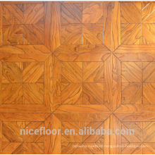 Layered solid wood parquet flooring N13 ELM PARQUET FLOOR