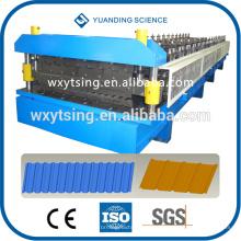 Passado CE e ISO YTSING-YD-6613 PLC Sistema Automático de Camada Dupla Rolo De Telha De Telhado Formando A Máquina