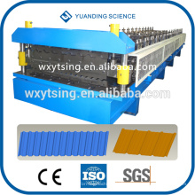 Прошло CE и ISO YTSING-уй-6613 автоматической системой PLC двойной слой крен плитки Толя формируя машину