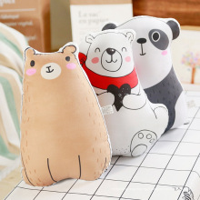 Oreillers en forme de panda ours