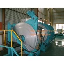 El CE aprobó la máquina hidráulica del soldador del extremo de la fusión del calor de la pipa del HDPE