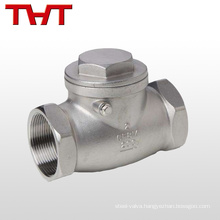 one way water stainless steel fuel check valve