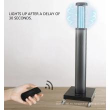 Lámparas ultravioleta de iluminación profesional con ozono.