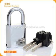 Gerenciar cadeado Mecanismo Cadeado com alça de plástico chave