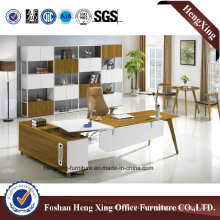 Modern Design L Shape Wooden Office Desk (HX-BS801)