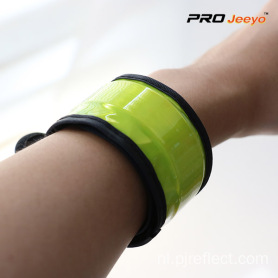 High-viz Safety Fluo Yellow PVC Strap