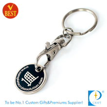 New Style Custom Printed Shopping Metal Token Coin
