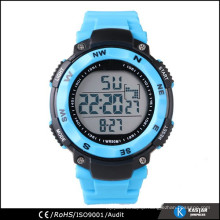 big watch display mens digital sport watch, china watch manufacturer