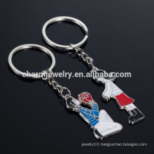 2015 Novelty Items new Couple Love Keychain Cartoon Key chain Lovers Key ring Women Wedding Jewelry Accessory Valentin YSK016
